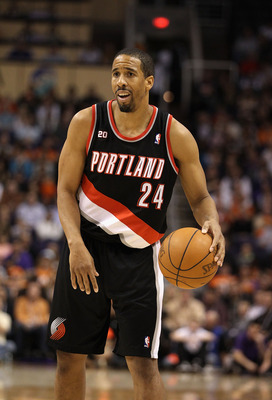 PHOENIX, AZ - JANUARY 14:  Andre Miller #24 of the Portland Trail Blazers in action during the NBA game against the Phoenix Suns at US Airways Center on January 14, 2011 in Phoenix, Arizona. The Suns defeated the Trail Blazers 115-111. NOTE TO USER: User