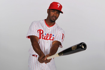 CLEARWATER, FL - FEBRUARY 22: Jimmy Rollins #11 of the Philadelphia Phillies poses for a photo during Spring Training Media Photo Day at Bright House Networks Field on February 22, 2011 in Clearwater, Florida.  (Photo by Nick Laham/Getty Images)