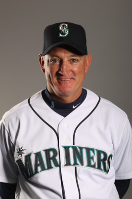 PEORIA, AZ - FEBRUARY 20:  Bench coach Robby Thompson of the Seattle Mariners poses for a portrait at the Peoria Sports Complex on February 20, 2011 in Peoria, Arizona.  (Photo by Ezra Shaw/Getty Images)