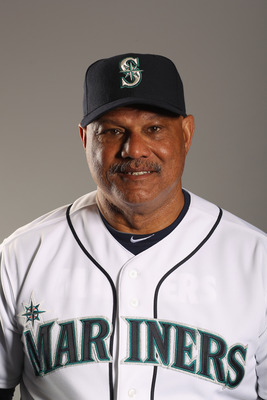PEORIA, AZ - FEBRUARY 20: Hitting coach Chris Chambliss of the Seattle Mariners poses for a portrait at the Peoria Sports Complex on February 20, 2011 in Peoria, Arizona.  (Photo by Ezra Shaw/Getty Images)
