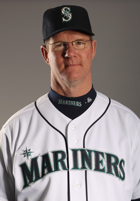 PEORIA, AZ - FEBRUARY 20:  Third base coach Jeff Datz of the Seattle Mariners poses for a portrait at the Peoria Sports Complex on February 20, 2011 in Peoria, Arizona.  (Photo by Ezra Shaw/Getty Images)