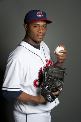 GOODYEAR, AZ - FEBRUARY 22: Tony Sipp #33 of the Cleveland Indians poses during their photo day at the Cleveland Indians Spring Training Complex on February 22, 2011 in Goodyear, Arizona. (Photo by Rob Tringali/Getty Images)