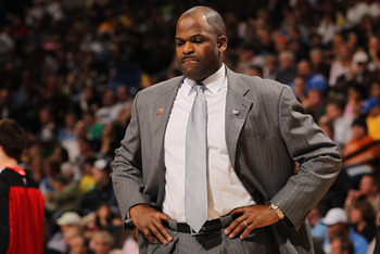 DENVER - DECEMBER 28:  Head coach Nate McMillan of the Portland Trail Blazers looks on during a time out against the Denver Nuggets at Pepsi Center on December 28, 2010 in Denver, Colorado. The Nuggets defeated the Blazers 95-77. NOTE TO USER: User expres
