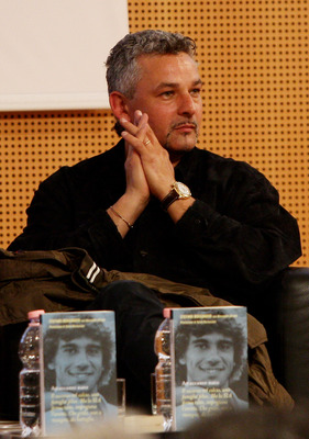 MILAN, ITALY - APRIL 21:  Roberto Baggio attends 'Attaccante Nato' Book Launch held at Sala Buzzati on April 21, 2010 in Milan, Italy.  (Photo by Vittorio Zunino Celotto/Getty Images)