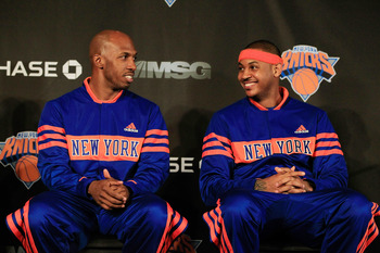 Chauncey Billups, Carmelo Anthony