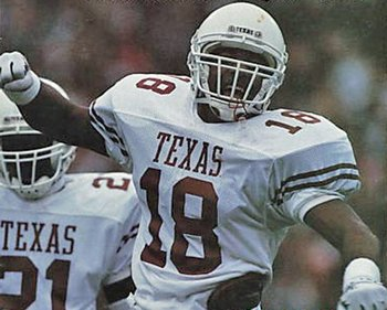 Texas' All-Time #8 DB- Stanley Richard