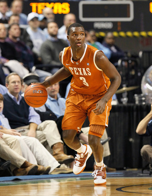 GREENSBORO, NC - DECEMBER 18:  Jordan Hamilton #3 of the Texas Longhorns against the North Carolina Tar Heels at Greensboro Coliseum on December 18, 2010 in Greensboro, North Carolina.  (Photo by Kevin C. Cox/Getty Images)