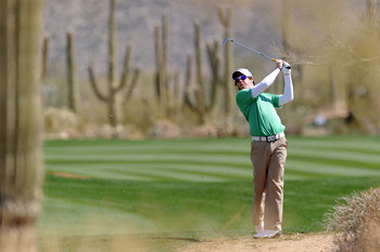 MARANA, AZ - FEBRUARY 24:  Rory McIlory of Northern Ireland hits an approach shot on the tenth hole during the second round of the Accenture Match Play Championship at the Ritz-Carlton Golf Club on February 24, 2011 in Marana, Arizona.  (Photo by Stuart F