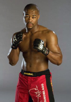 There's definitely style and substance when in it comes to Rashad Evans