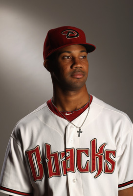 SCOTTSDALE, AZ - FEBRUARY 21:  Chris Young #24 of the Arizona Diamondbacks poses for a portrait at Salt River Fields at Talking Stick on February 21, 2011 in Scottsdale, Arizona.  (Photo by Ezra Shaw/Getty Images)
