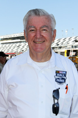 DAYTONA BEACH, FL - FEBRUARY 18:  NASCAR Hall of Famer Bobby Allison,  walks in the garage area prior to practice for the NASCAR Sprint Cup Series Daytona 500 at Daytona International Speedway on February 18, 2011 in Daytona Beach, Florida.  (Photo by Jer