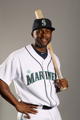 PEORIA, AZ - FEBRUARY 20:  Milton Bradley #15 of the Seattle Mariners poses for a portrait at the Peoria Sports Complex on February 20, 2011 in Peoria, Arizona.  (Photo by Ezra Shaw/Getty Images)