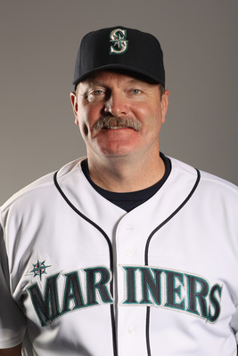 PEORIA, AZ - FEBRUARY 20:  Manager Eric Wedge of the Seattle Mariners poses for a portrait at the Peoria Sports Complex on February 20, 2011 in Peoria, Arizona.  (Photo by Ezra Shaw/Getty Images)