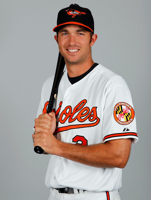 SARASOTA, FL - FEBRUARY 26:  Infielder J.J. Hardy #2 of the Baltimore Orioles poses for a photo during photo day at Ed Smith Stadium on February 26, 2011 in Sarasota, Florida.  (Photo by J. Meric/Getty Images)