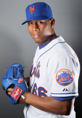 PORT ST. LUCIE, FL - FEBRUARY 24:  RY 24:  RY 24:  Armando Rodriguez #66 of the New York Mets poses for a portrait during the New York Mets Photo Day on February 24, 2011 at Digital Domain Park in Port St. Lucie, Florida.  (Photo by Elsa/Getty Images)