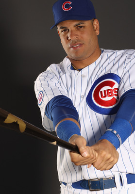 MESA, AZ - FEBRUARY 22:  Aramis Ramirez #16 of the Chicago Cubs poses for a portrait during media photo day at Finch Park on February 22, 2011 in Mesa, Arizona.  (Photo by Ezra Shaw/Getty Images)