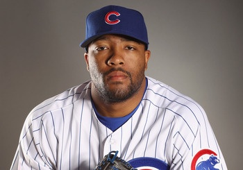 MESA, AZ - FEBRUARY 22:  Jay Jackson #65 of the Chicago Cubs poses for a portrait during media photo day at Finch Park on February 22, 2011 in Mesa, Arizona.  (Photo by Ezra Shaw/Getty Images)