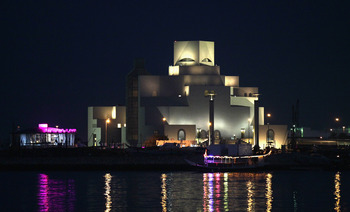 DOHA, QATAR - JANUARY 04: View of the museum of islamic art is taken on January 4, 2011 in Doha, Qatar. The International Monetary Fund (IMF) recently reiterated its projection for the Qatari economy with predictions of double digit growth for 2010 and 20