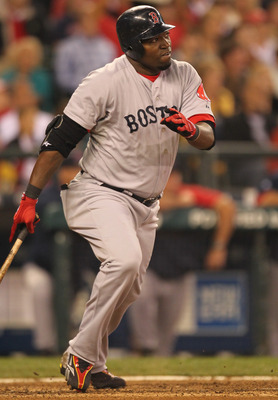 SEATTLE - SEPTEMBER 15:  David Ortiz #34 of the Boston Red Sox bats against the Seattle Mariners at Safeco Field on September 15, 2010 in Seattle, Washington. (Photo by Otto Greule Jr/Getty Images)