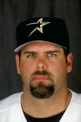 1 Mar 1999: Infielder Ken Caminiti #11 of the Houston Astros poses for a studio portrait on Photo Day during Spring Training at the Osceola County Stadium in Kissimmee, FloridaMandatory Credit: Andy Lyons  /Allsport