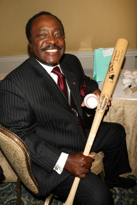 NEW YORK - SEPTEMBER 17: Joe Morgan poses with bat and ball at the 22nd Annual Great Sports Legends Dinner to benefit The Buoniconti Fund to Cure Paralysis at the Waldorf Astoria September 17, 2007 in New York City. The event honors sports legends for the