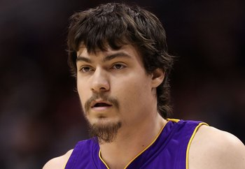 PHOENIX - MARCH 12:  Adam Morrison #6 of the Los Angeles Lakers in action during the NBA game against the Phoenix Suns at US Airways Center on March 12, 2010 in Phoenix, Arizona.  The Lakers defeated the Suns 102-96.  NOTE TO USER: User expressly acknowle