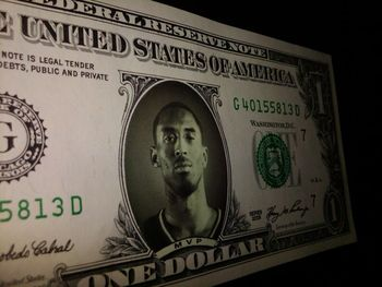 $1 million of Kobe's salary comes in bills like these