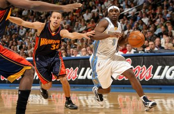 Stephen Curry and Ty Lawson
