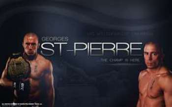 "Georges St-Pierre: ""The Champ is Here"""