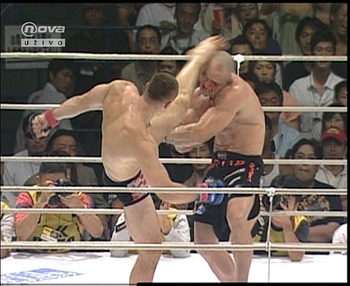 Cro Cop at his peak fighting in Pride