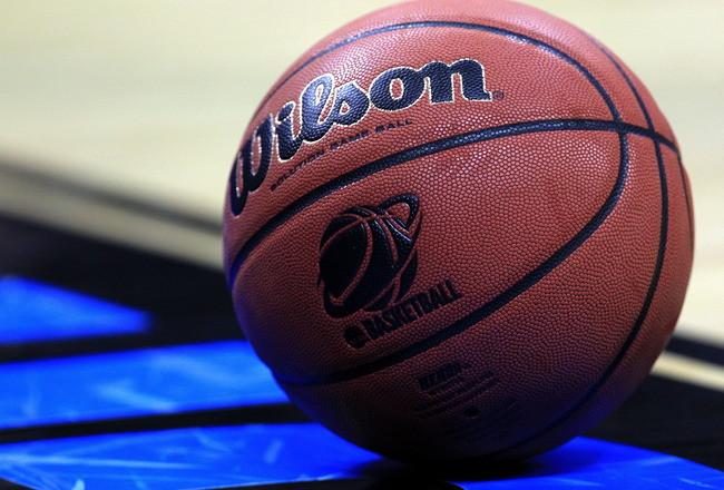 CHARLOTTE, NC - MARCH 20:  A detail of the Wilson NCAA basketball on the court during the third round of the 2011 NCAA men's basketball tournament at Time Warner Cable Arena on March 20, 2011 in Charlotte, North Carolina.  (Photo by Streeter Lecka/Getty I