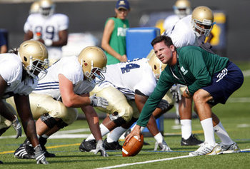 Bob Diaco provides much needed stability to the Irish defense.