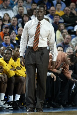 BUFFALO, NY - MARCH 15:  Head coach Anthony Grant of the Virginia Commonwealth Rams looks on from the sidelines against the Duke Blue Devils during round one of the NCAA Men's Basketball Tournament at the HSBC Arena on March 15, 2007  in Buffalo, New York