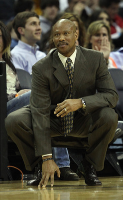 CHARLOTTE, NC - DECEMBER 29:  Head coach Byron Scott of the Cleveland Cavaliers watches on against the Charlotte Bobcats during their game at Time Warner Cable Arena on December 29, 2010 in Charlotte, North Carolina. NOTE TO USER: User expressly acknowled