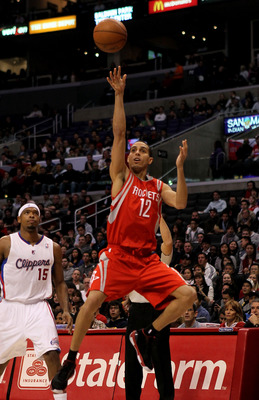 LOS ANGELES, CA - DECEMBER 22: Kevin Martin #12 of the Houston Rockets shoots against the Los Angeles Clippers at Staples Center on December 22, 2010 in Los Angeles, California.  NOTE TO USER: User expressly acknowledges and agrees that, by downloading an