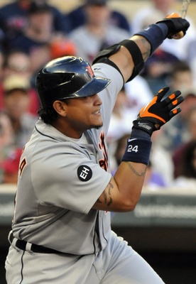 He may not make the best decisions off the field, but on the field, Miguel Cabrera is golden.