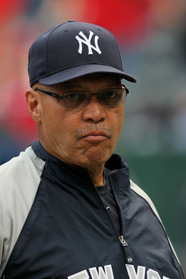 ARLINGTON, TX - OCTOBER 22:  Baseball Hall of Famer Reggie Jackson looks on during batting prior to the New York Yankees playing against the Texas Rangers in Game Six of the ALCS during the 2010 MLB Playoffs at Rangers Ballpark in Arlington on October 22,