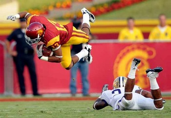 WR Robert Woods may mot be able to fly like Superman, but he's usually the fastest player on the football field.