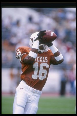 Texas' All-Time #3 DB- Chris Carter