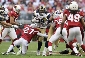 Steven Jackson might see less 8 man fronts in the near future.