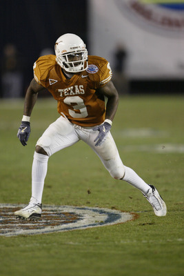 Texas All-Time #1 DB- Nathan Vasher