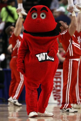 PORTLAND, OR - MARCH 21:  The Western Kentucky Hilltoppers mascot on the court during a break in the action against the Gonzaga Bulldogs during the second round of the NCAA Division I Men's Basketball Tournament at the Rose Garden on March 21, 2009 in Por