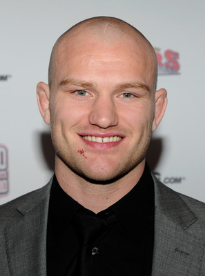 LAS VEGAS, NV - DECEMBER 01:  Mixed martial artist Martin Kampmann arrives at the third annual Fighters Only World Mixed Martial Arts Awards 2010 at the Palms Casino Resort December 1, 2010 in Las Vegas, Nevada.  (Photo by Ethan Miller/Getty Images)