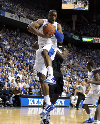 LEXINGTON, KY - MARCH 01:  Terrence Jones #3 of the Kentucky Wildcats grabs a rebound during the SEC game against the Vanderbilt Commodores at Rupp Arena on March 1, 2011 in Lexington, Kentucky.  (Photo by Andy Lyons/Getty Images)