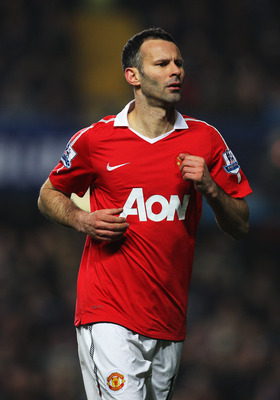 The mercurial Ryan Giggs