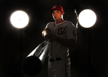 VIERA, FL - FEBRUARY 25:  Ryan Zimmerman #11 of the Washington Nationals poses for a portrait during Spring Training Photo Day at Space Coast Stadium on February 25, 2011 in Viera, Florida.  (Photo by Al Bello/Getty Images)