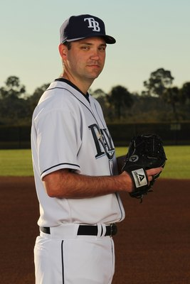 PORT CHARLOTTE, FL - FEBRUARY 26:  R.J. Swindle #68 of the Tampa Bay Rays poses for a photo during Spring Training Media Photo Day at Charlotte County Sports Park on February 26, 2010 in Port Charlotte, Florida.  (Photo by Nick Laham/Getty Images)