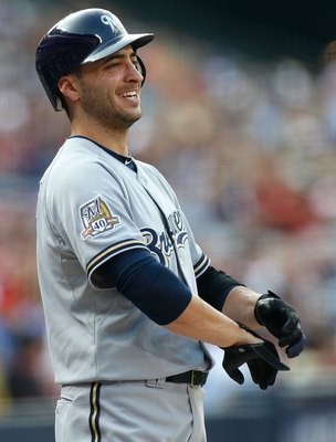 Why is Ryan Braun laughing?  He knows something that we don'[t about 2011.