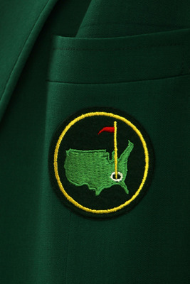 AUGUSTA, GA - APRIL 06:  An Augusta National logo is seen on a member's jacket during a practice round prior to the 2010 Masters Tournament at Augusta National Golf Club on April 6, 2010 in Augusta, Georgia.  (Photo by Andrew Redington/Getty Images)