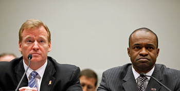 Roger Goodell & DeMaurice Smith